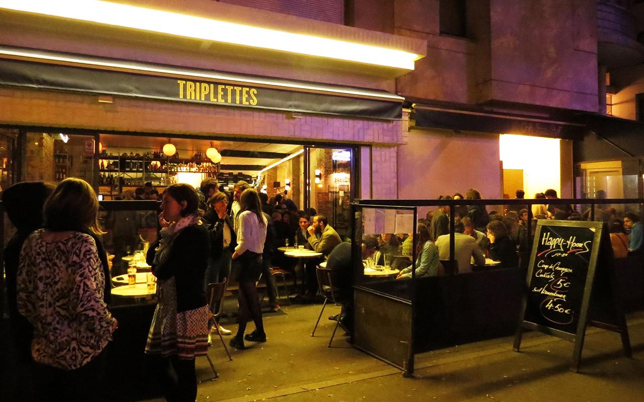 triplettes-belleville-restaurant-paris-east-village-night