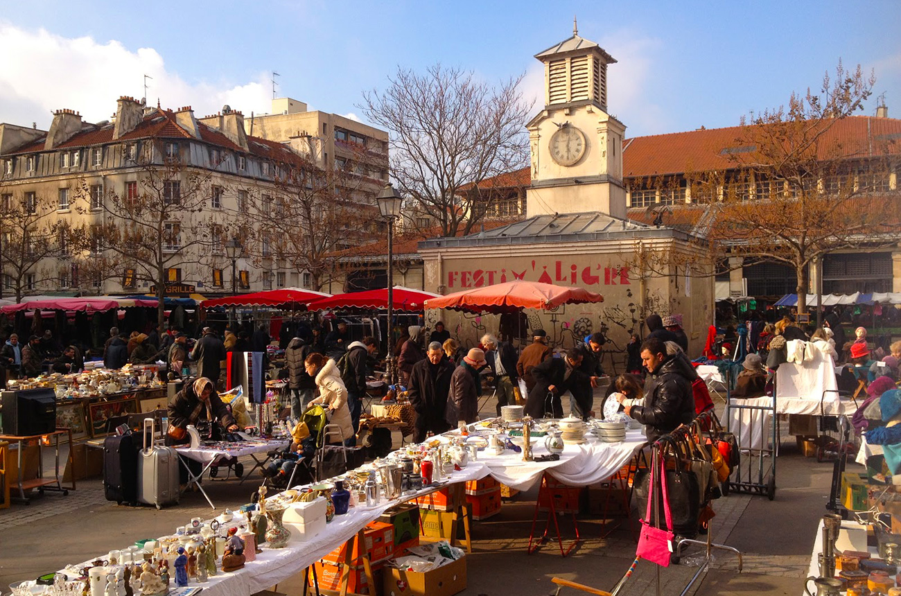 Le march d aligre paris east village - Cuisine et confidences place du marche saint honore ...